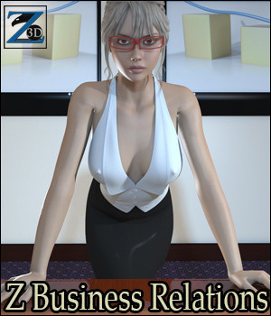 Z Business Relations + Poses 3D Figure Assets 3D Models Zeddicuss