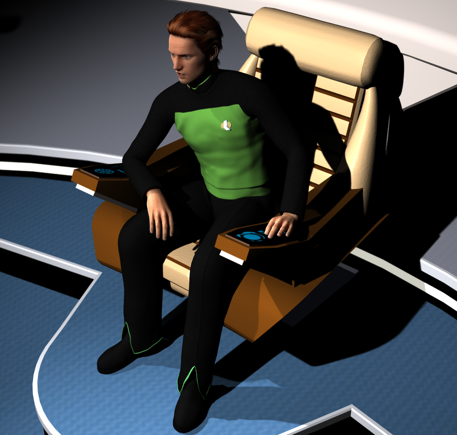 Explorer Uniform for Genesis 2 Male/ Michael 6