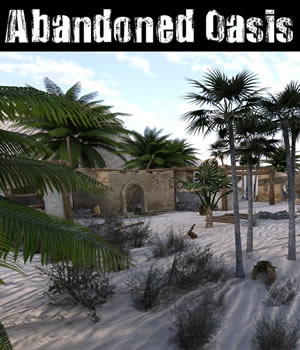 Abandoned Oasis 3D Models dexsoft-games