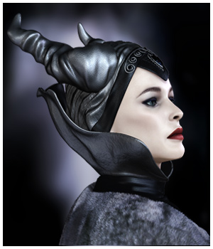GCD - Fantasy Queen Head and Neck Pieces for V4 3D Figure Essentials 3D Models GrayCloudDesign
