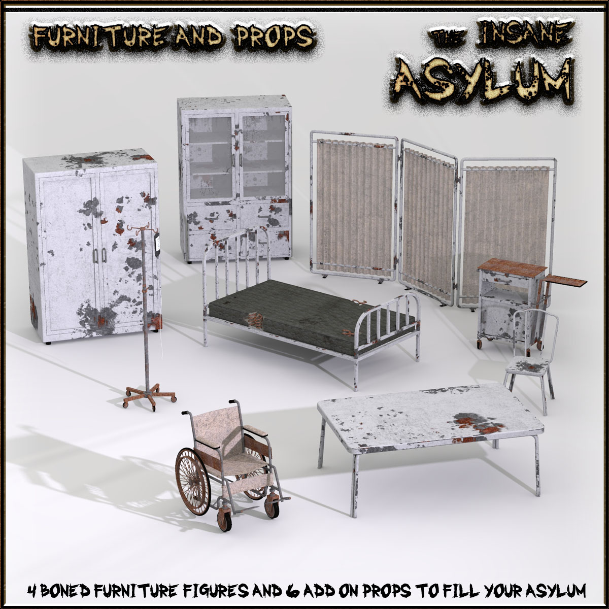 Insane Asylum 2: Furniture and Props