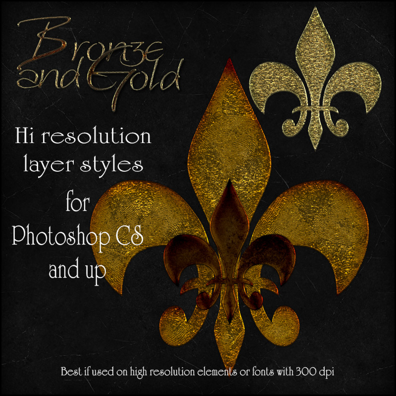 Bronze and Gold