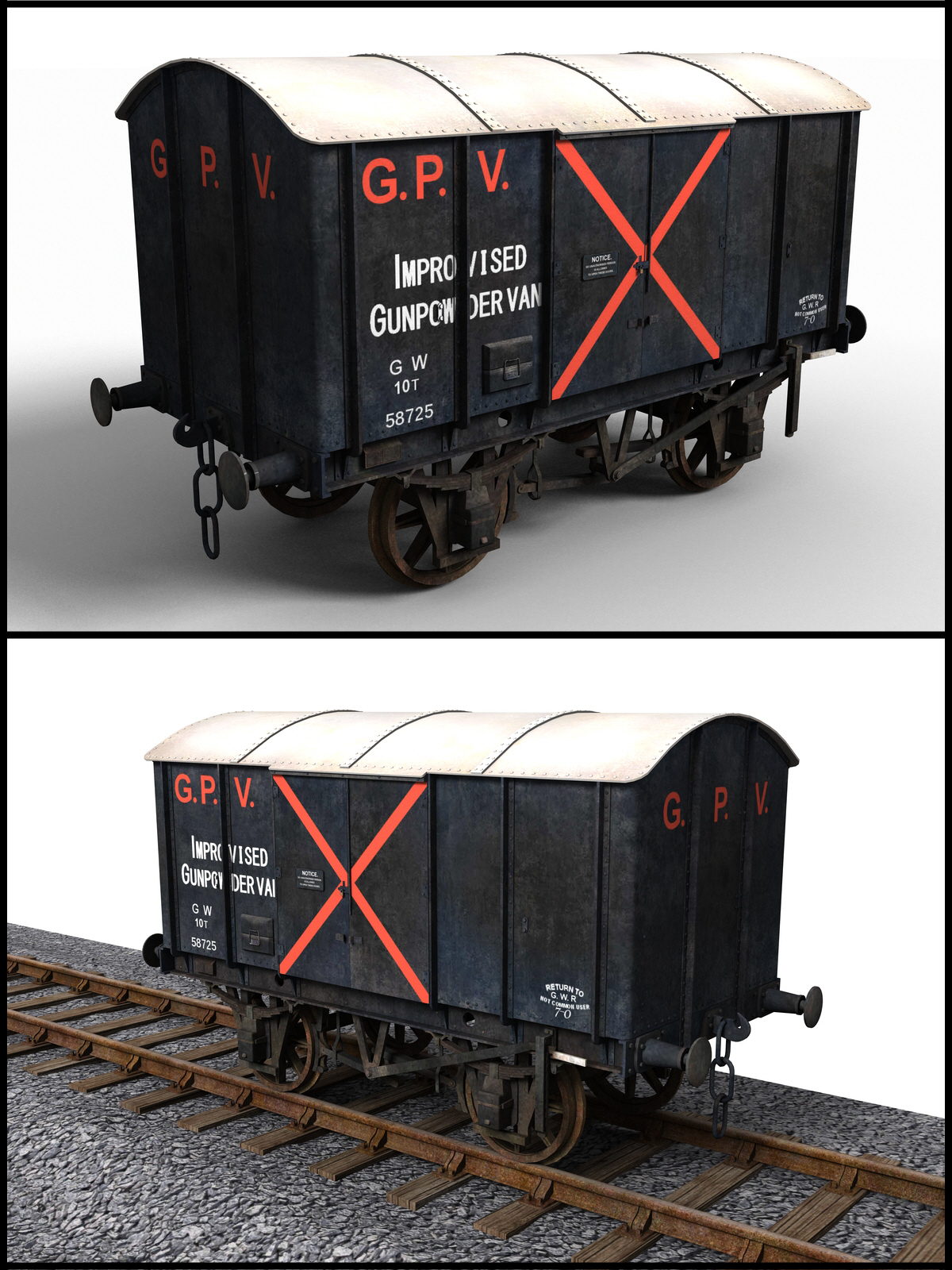 GWR Gunpowder Van by DryJack