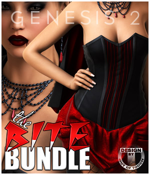 THE BITE Super Halloween Bundle 3D Figure Essentials outoftouch