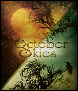 October Skies 2D Graphics antje