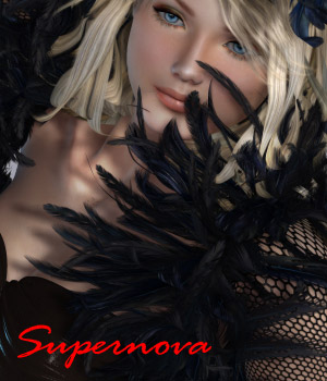 SexyWitch 3D Figure Essentials -supernova-