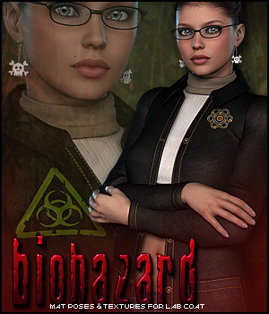 Biohazard for Lab Coat 3D Figure Essentials Sveva