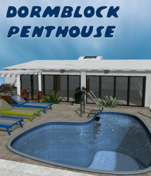 Dormblock Penthouse - Extended License 3D Models greenpots
