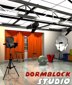 Dormblock Studio - Extended License 3D Figure Assets 3D Models Extended Licenses greenpots