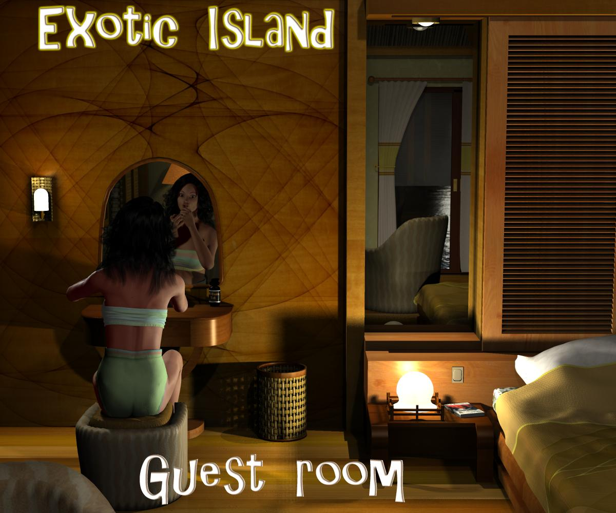 Exotic island - Guest room - Extended License