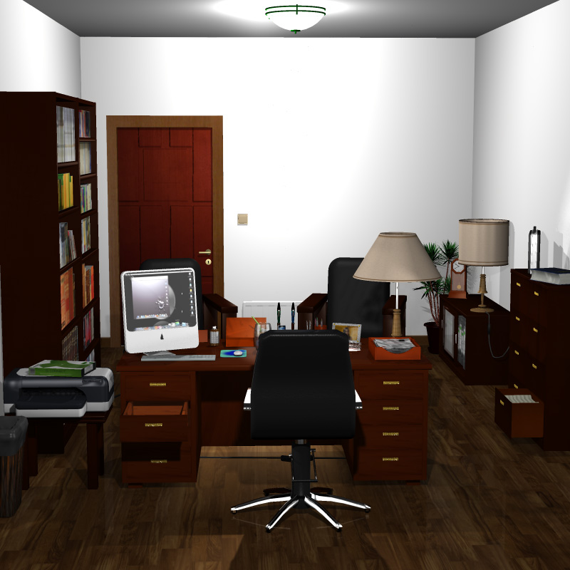 School Headmaster Office Extended License 3d Models