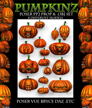 PumpkinZ 3D Models Poisen
