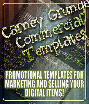 SC Carney Grunge Templates 2D Merchant Resources -SouthernCharmz-