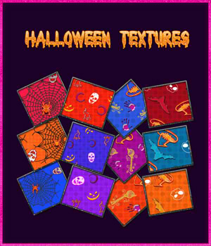 Halloween Textures 2D Graphics Hana-Art