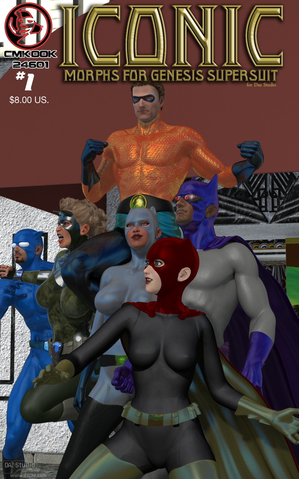 Daz freebies genesis : O1 day deals