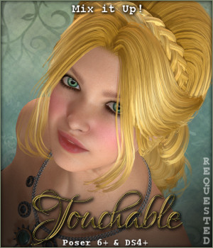 Touchable Bridgette 3D Figure Assets -Wolfie-