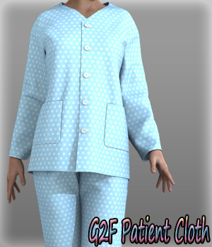 G2F Patient Cloth 3D Figure Essentials kang1hyun