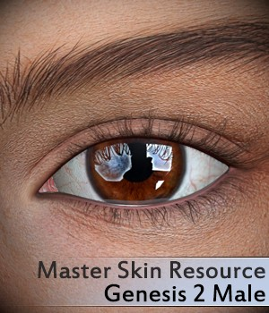 Master Skin Resource 5 - Genesis 2 Male 2D Merchant Resources 3Dream