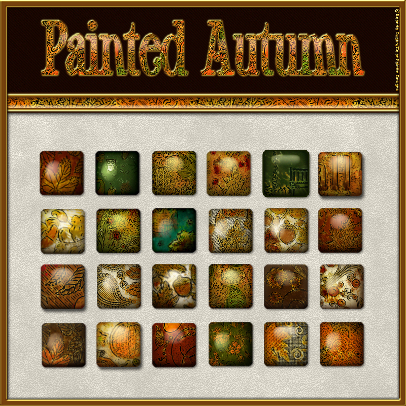 Painted Autumn Layer Styles