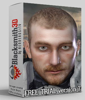 Blacksmith3D PRO - FREE TRIAL with $3.50 Purchase 3D Software : Poser : Daz Studio : iClone Blacksmith3D