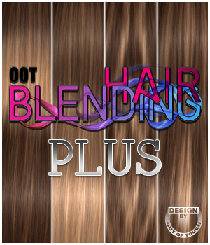OOT Hairblending Plus 3D Figure Essentials outoftouch