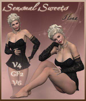 Sensual Sweets - V4-GF2-V6 3D Figure Essentials ilona