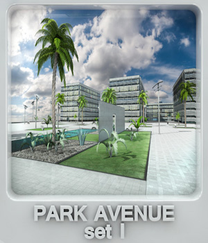 Park Avenue set I 3D Models whitemagus