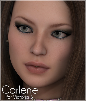 Sabby-Carlene for Victoria 6 3D Figure Essentials Sabby