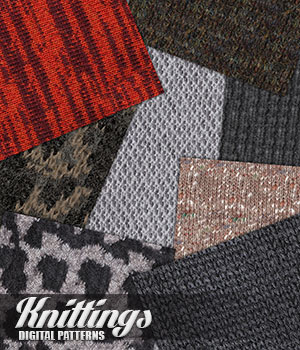DP - Knittings II 2D Graphics Merchant Resources Atenais