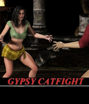 Gyspsy Catfight 3D Figure Essentials greyson5
