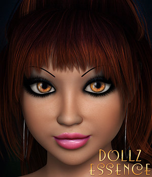 Dollz Essence 3D Figure Essentials 3DSublimeProductions