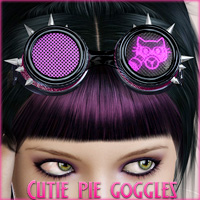 Cutie Pie Goggles - Extended License 3D Models 3D Figure Essentials NemesisT