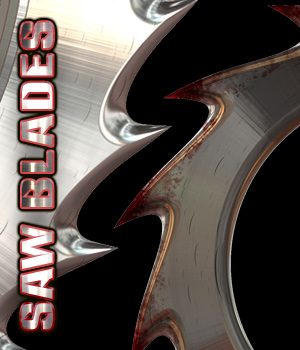 Saw Blades 2D Graphics TheToyman