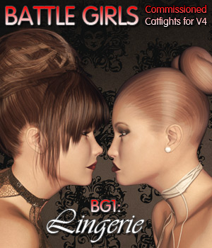 Battle Girls - Lingerie 3D Figure Assets Darkworld