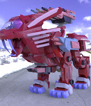 LeoBot (for Poser) 3D Models VanishingPoint