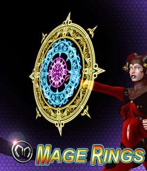 MM Mage Rings 3D Models mix_mash