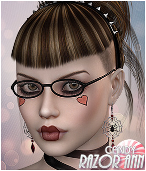 Candy Razor Ann 3D Figure Essentials Sveva