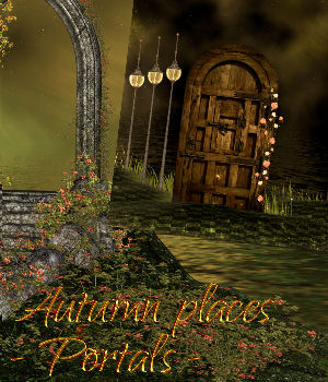 DA-Autumn places - Portals 2D Graphics DarkAngelGrafics