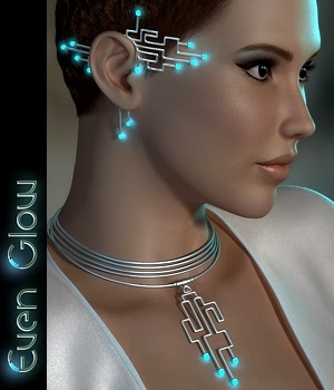 Even Glow Jewels 3D Figure Essentials fabiana