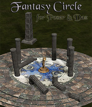 Fantasy Circle 3D Models Simon-3D