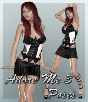Adore Me 3 Poses 3D Figure Essentials SynfulMindz
