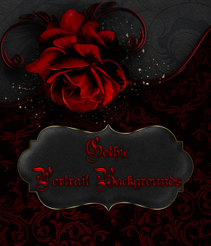 Gothic Portrait Backgrounds 2D antje