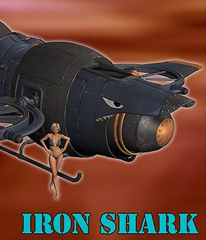 Iron shark 3D Models 1971s