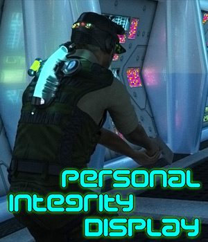 Personal Integrity Display 3D Figure Assets 3D Models Cybertenko