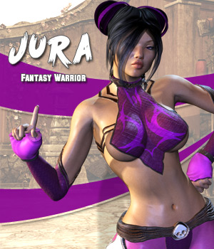 Jura - Fantasy Warrior 3D Figure Essentials Darkworld