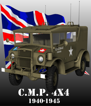 CMP CHEVROLET 4X4 RADIO 3D Models Nationale7