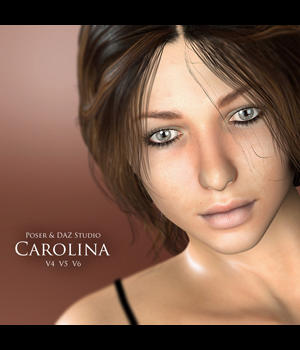 Carolina for V4, V5 & V6 3D Figure Essentials adamthwaites