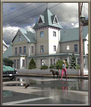 Movie Sets, City Block 19 3D Models DreamlandModels