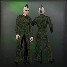 Dynamic Mainframe Coat image 2
