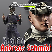 Kapitan Andreas Schmidt M4 - Extended License 3D Models 3D Figure Assets Extended Licenses powerage